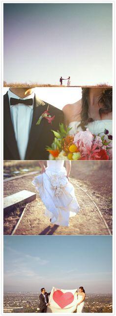 Nouveau Carnival wedding   http://www.100layercake.com/blog/2012/02/23/nouveau-carnival-wedding-nina-amir/