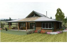 Farm House Plan 452-1