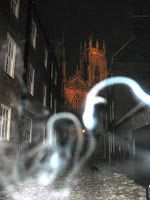 Ghostly Figures Caught on Film near York Minster