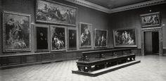 Rubenssaal im Kaiser-Friedrich-Museum (heute Bode-Museum), um 1926