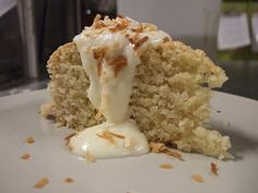 Tourva - Cypriot soft coconut cake.