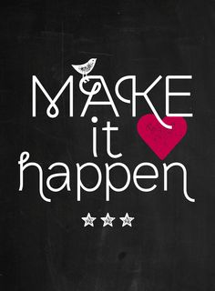 Happy page uit vtwonen 2 2015: Make it Happen!