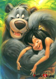 *BALOO & MOWGLI ~ The Jungle Book, 1967