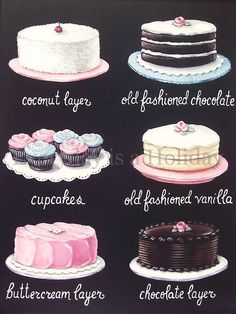 Cake Classifications