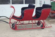 Horse Drawn Sleigh Wagon Buggy Carriage Cart Antique | eBay