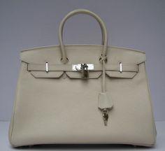 Luxury Replica Best Hermes Birkin 62640 Ladies Beige Handbags Outlet H01262 - luxuryhandbagsoutlet.com