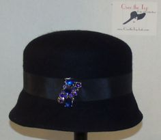 Over the Top 013 by DIANE GRAHAM  #millinery #HatAcademy #hats