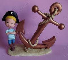 Pirata com Ancora Fofinho