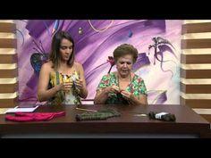Mulher.com - 17/02/2016 - Meia asteca em tricô - Darci Aceto - YouTube