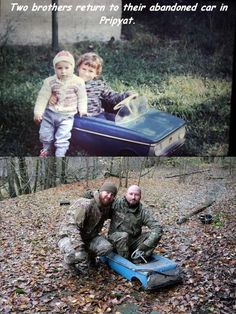 Brothers find their old toy car after 25 years... - 9GAG