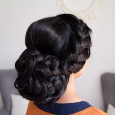 mermaid juda updo