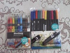 My #new #water #color #markers