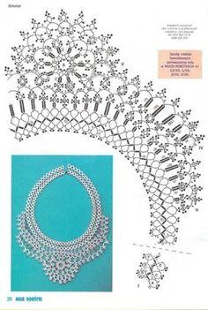 Схемы / Scheme: necklace