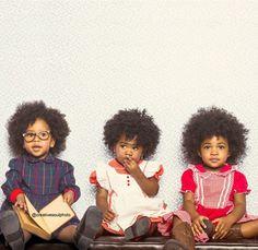 Three Little Dolls - http://community.blackhairinformation.com/hairstyle-gallery/kids-hairstyles/three-little-dolls/ #kidshairstyles