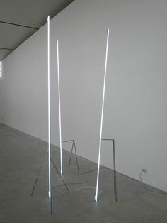 Massimo Uberti: Neon Light Installations | Yellowtrace.