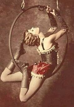 19 th century acrobat More