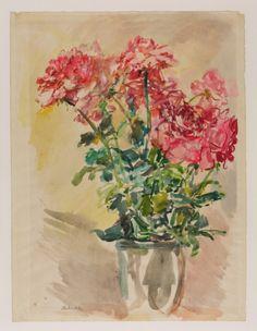 Oskar Kokoschka - Roses I