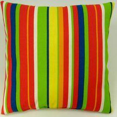 Stripe Indoor/Outdoor Throw Pillow