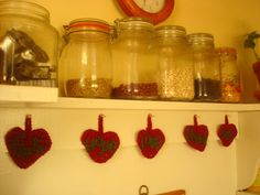 Crochet hearts- fruit of the spirit Fruit Of The Spirit, Country Living, Homemaking, Crochet Hearts, Cottage, Country Life, Home Economics, Cottages, Household Chores