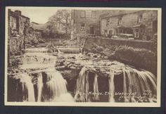 The Waterfall from the Bridge Hawes Yorkshire Postcard H6 Listing in the Yorkshire,England,Topographical,Postcards,Collectables Category on eBid From deanosaur1972