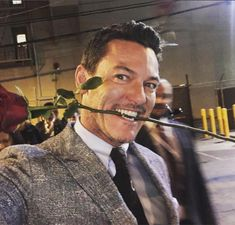 @@@ Luke Evans, Love you Baby