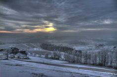 """""""Märchenhaftes Mühlviertel. Von Hörleinsödt aus aufgenommen."""" (Bild: Fritz… Austria, Heart Of Europe, Fritz, Winter Images, In The Heart, Most Beautiful, Country, Pictures, Outdoor"""