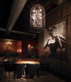 Sagamor lounge bar & restaurant by Andrea Langhi, Bergamo – Italy