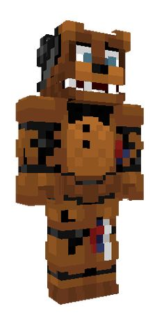 Freddy Onesie - The Best of Minecraft Skins, Buildings and Houses Fnaf Minecraft, Cool Minecraft, Minecraft Designs, Minecraft Skins, Freddy S, Five Nights At Freddy's, Fnaf 4, Scott Cawthon, Pokemon