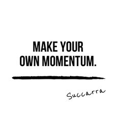 ...because no one else will make it for you. #Succarra
