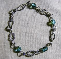 Love Knot Bracelet  Sterling Silver Handmade by by JewelryArtistry, $35.00
