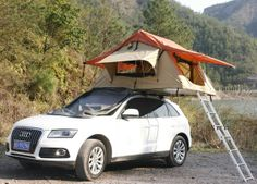 Roof tents – camping kit for masochists, or a perfect penthouse? Top Tents, Roof Top Tent, Tent Camping, Camping Gear, Trailer Tent, Camper Van, Rooftop, Around The Worlds, Exterior