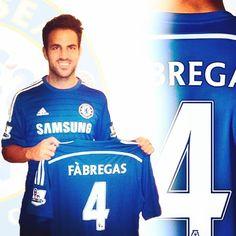 CALCIOMERCATO: Fabregas è ufficialmente un giocatore del Chelsea FC. @cescf4bregas officially from @fcbarcelona to @chelseafc #fabregas #chelseaFC #Chelsea #barcelona #barcellona #football #soccer #españa #selecciónespañola #cescfabregas