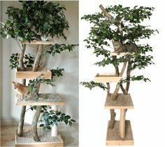 kratzbaum selber bauen man kann aus naturmaterialien einen ... - Aus Naturmaterialien Bauen