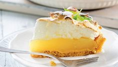 Keltainen sitruunapiirakka Baking Recipes, Cake Recipes, Sweet Pie, Pastry Cake, Köstliche Desserts, Sweet And Salty, Oreo, No Bake Cake, Sweet Recipes