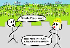 La Caricatura de Hoy: Las Cruzadas  según los Cruzados - http://bambinoides.com/la-caricatura-de-hoy-las-cruzadas-segun-los-cruzados/