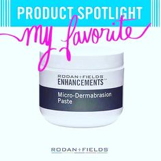 Product Spotlight - R+F Micro-Dermabrasion Paste This oil free scrub is fantastic for sloughing away dead skin cells, getting rid of blackheads, and revealing brighter, clearer skin.  $78 for the jar - lasts 6-10 months when used 2-3 times a week.  Don't forget Mother's Day is around the corner! :)