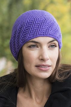 This crocheted hat is a free pattern!
