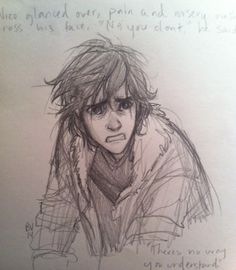 Nico Di Angelo this is such a good drawing and u can FEEL The emotion. It's just so pretty even though I hate that part of the book