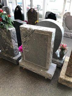 Cheap Headstones, Cemetery Headstones, Diy Storage Shed Plans, Memorial Markers, Grave Memorials, Funeral, Headstone Ideas, Memorial Ideas, Grave Markers