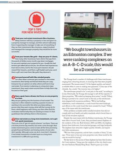 Canadian Real Estate Magazine Article