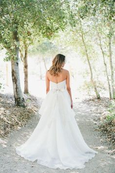 Gorgeous gown: http://www.stylemepretty.com/little-black-book-blog/2015/03/24/rustic-italian-olive-branch-winery-wedding/   Photography: Onelove - http://www.onelove-photo.com/