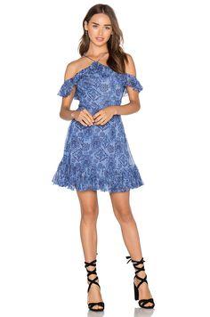 86fd83baa0 MAJORELLE Zuni Dress in Aztec Print Viscose Estampada