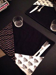 DIY TUTO Sets de table sur http://atelierjersey.fr/