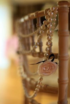 wedding chair decoration | 10 Creative Chair Decor Ideas | Intimate Weddings - Small Wedding Blog ...