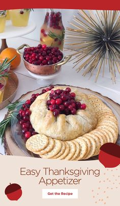 Thanksgiving Appetizers, Holiday Appetizers, Thanksgiving Recipes, Fall Recipes, Appetizer Recipes, Holiday Recipes, Thanksgiving 2020, Holiday Meals, Party Appetizers
