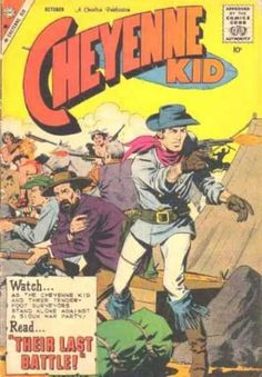 The Cheyenne Kid- dick giordano