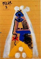 Pablo Picasso. The bride I, 1969