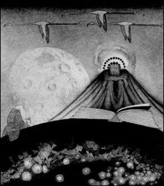 """Sidney H Sime's 'It' for """"The Gods of Pegãna"""" (1905) at Spirit of the Ages"""