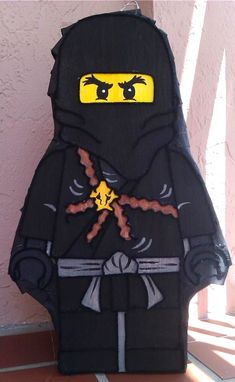 This is another amazing piñata from Awesome Pinatas.  She has all of the popular Ninjago characters available.  Your son and his party guests will flip when they see it.