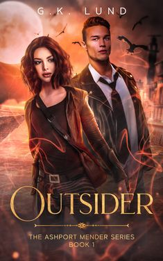 """Read """"Outsider"""" by G. Lund available from Rakuten Kobo. An unseen community, troublesome abilities, unforeseen captivation… Detective Nate Hansen thought he knew the shady side. Fantasy Authors, Fantasy Books, Book 1, This Book, Save The Day, Paranormal Romance, Lund, Weird And Wonderful, His Eyes"""